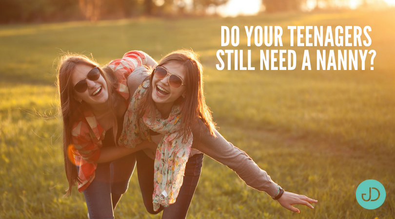 Do Your Teenagers Still Need a Nanny